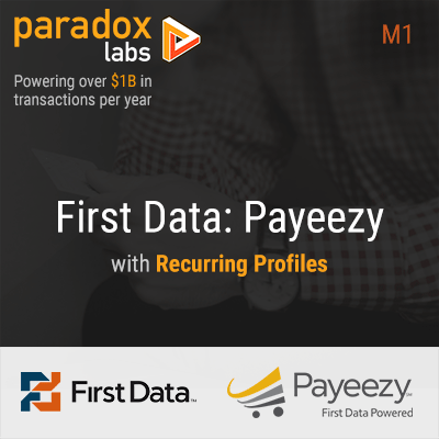 First Data Payeezy with Recurring Profiles for Magento